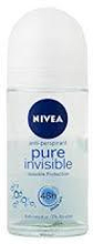 Nivea Pure Invisible 48h 0% deo roll-on