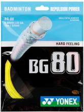 BG 80 Badmintonsträngar, Set 10m