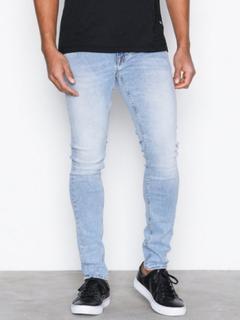Tiger Of Sweden Jeans Slim Jeans Jeans Ljus Blå