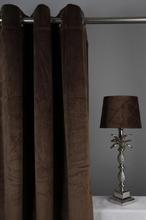 Velvet Gardinpar 240x140 cm - Brun