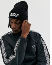 Obey Downbeat Beanie In Black - Black