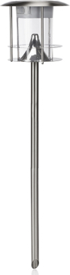 SMARTWARES Soldriven lampa med rörelsedetektor sil