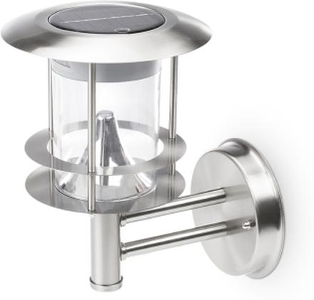 Smartwares Vägglampa med rörelsedetektor silverfärgad GWS-177-MS