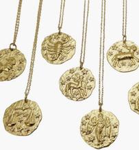 WOS Zodiac Necklace Aquarius