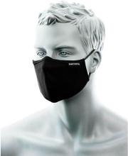 Munskydd tvättbart med näsklämma - svart