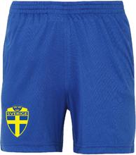 Sverige shorts - barn storlekar