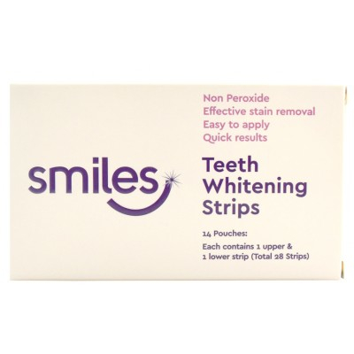 Smiles Teeth Whitening Strips 28 stk