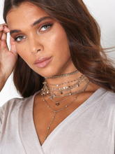 NLY Accessories Layered Charm Chokers
