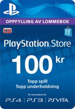 Wallet Top-up: 100 NOK (NO)