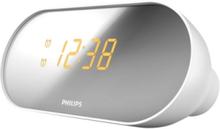Klokkeradio AJ2000 - clock radio - FM - Sølv