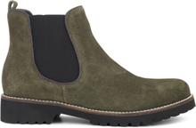 Green Comfort Chelsea Boot Olive