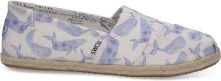 TOMS Schuhe Oceana Braun/Orange/Blau Whale Classics Für Damen - Größe 36.5