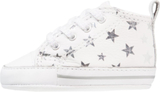 Converse CT FIRST STAR SUEDE PRINT Babyskor white/