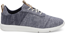TOMS Schuhe Dunkelblau Chambray Mix Cabrillo Sneaker Für Damen - Größe 37