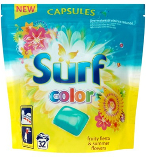 Surf Fruity Fiesta & Summer Flowers Color Capsules 32 st