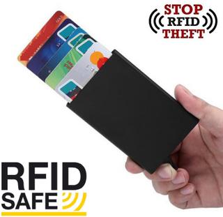 Pop-up korthållare - aluminiumfacken skyddar (rfid-säker)