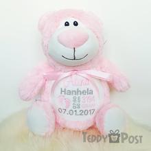 Rosa Nalle Cubby, 40 cm