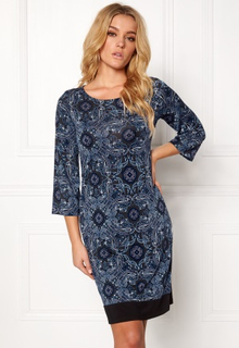 Happy Holly Belicia dress Black / Blue 32/34L