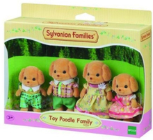 Toy Poodle Family / Dollhouse