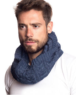 Out Tube Scarf Blue