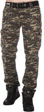 CD336 Cargo Pants Green Camo