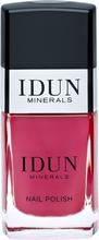 IDUN Minerals Cinnober Nail Polish (11 ml)