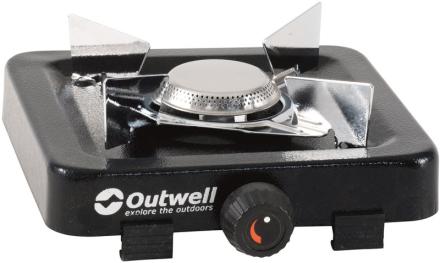 Outwell Appetizer 1 Burner Campingkoger sort/sølv 2019 Gaskogeplader