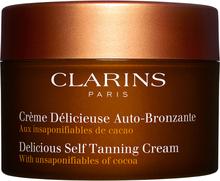 Clarins Delicious Self Tanning Cream, 150 ml Clarins Brun utan sol