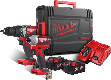 Milwaukee M18 BLPP2A2-502X Verktygspaket
