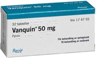 Vanquin tablett 50 mg 32 st