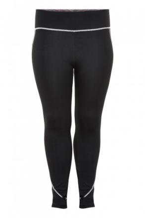 Casey reversable tights (Färg: Svart/flerfärgad, Storlek: XL)