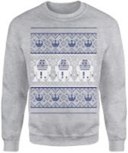 Star Wars Officially Licensed MEGA Christmas Gift Set - Includes Christmas Sweatshirt plus 3 gifts - XL