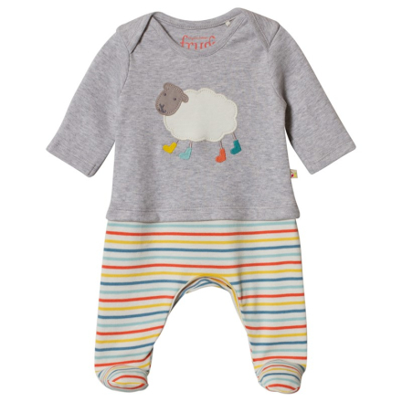 Sheep Baby One-PieceNewborn - Lekmer