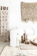 Ibiza pellava sohva - Valkoinen