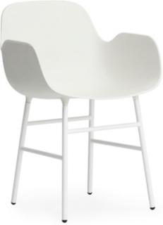 Form Stol Hvit/Hvit Normann Copenhagen
