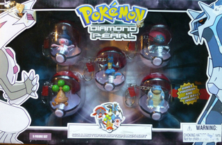 Nyckelringar Pokemon 5-pack