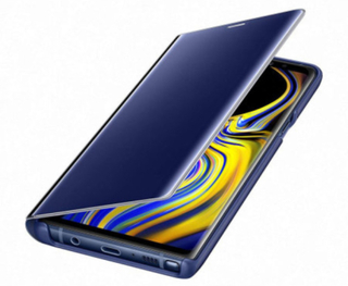 Samsung Clear View Samsung Note 9 : Samsung Clear View Samsung Note 9 Blue