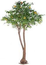 Stort kunstigt Appelsintræ H340 cm