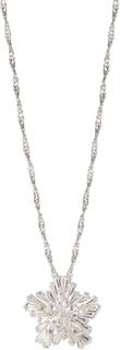 SNÖ of Sweden Snö Pendant Halsband 42 Silver/Clear