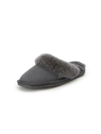 Slippers Fra Emu grå - Peter Hahn