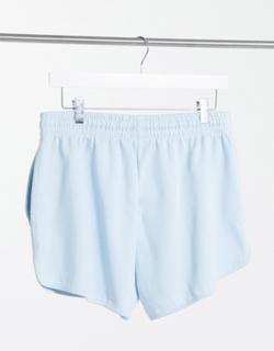 Topshop - Løbeshorts i bleg blå