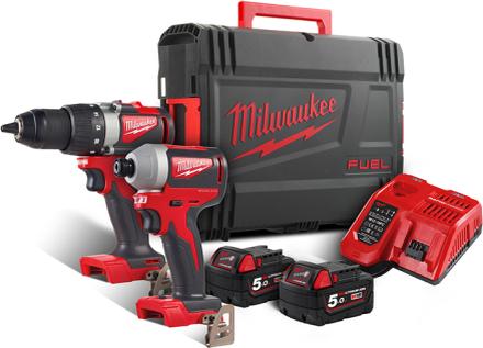 Milwaukee M18 BLPP2B2-502X Verktygspaket