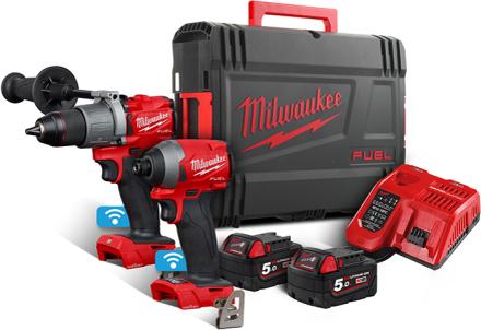 Milwaukee M18 ONEPP2A2-502X Verktygspaket