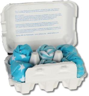 Xplorys blå sokker 6stk (barndom, Babyklær, Babyklær)