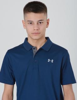 Under Armour, PERFORMANCE POLO, Blå, Polo/Rugbytrøjer till Dreng, S