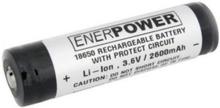 Urberg Enerpower Li-on 18650 3,6V 260 Batteri OneSize