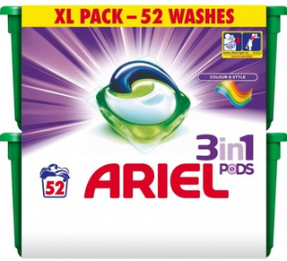 Ariel Pods 3-in-1 Color 52 st