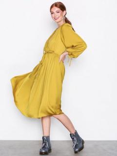 River Island LS Vicky Dress Yellow