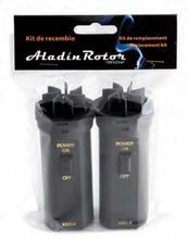 Reservmotor till Aladin Rökpistol, 2-pack - 100% Chef