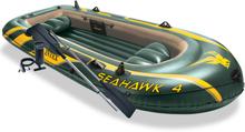 Intex Uppblåsbar båt Seahawk 4 med pump och åror 68351NP